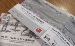 Stuttgart Match Ticket
