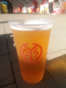 Beer Cup at Mainz Opel Arena