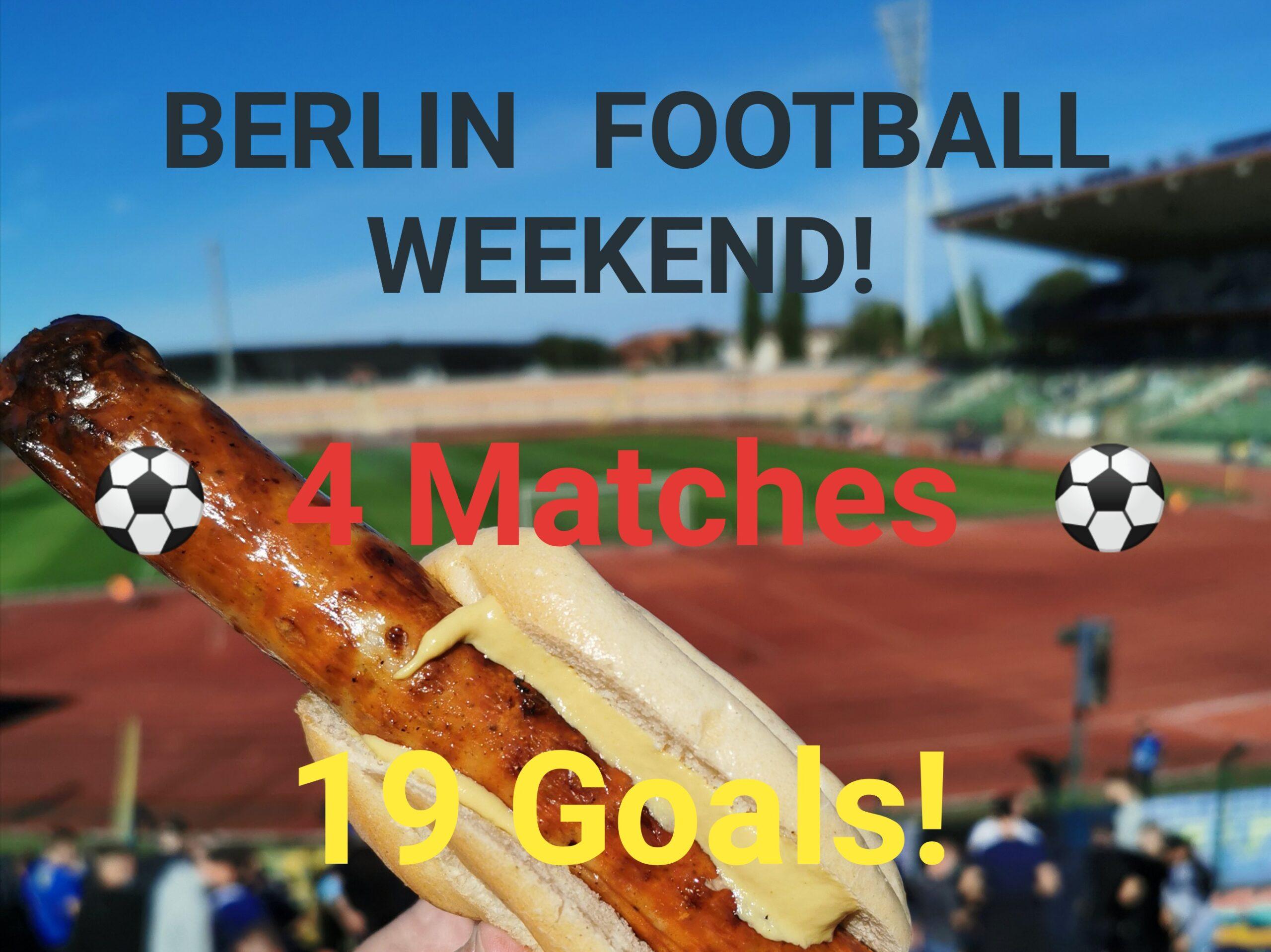 Berlin Football Weekend