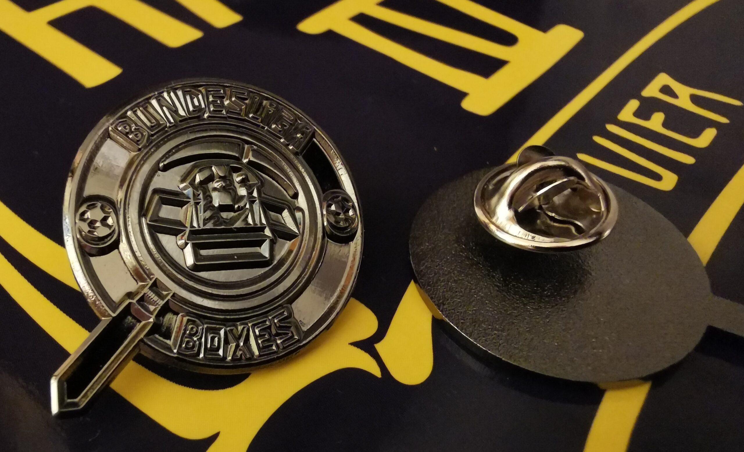 Blackout Pin Badge