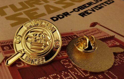 Gold Pin Badge